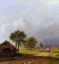 Koekkoek Barend C Landscape at Beek Sun