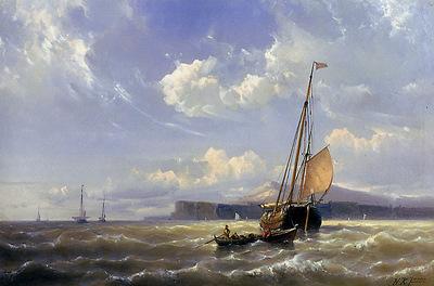 Koekoek jr Hermanus ships in rough waters Sun