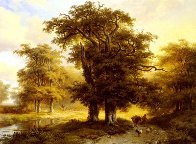 Koekkoek Marinus Adrianus The Country Road