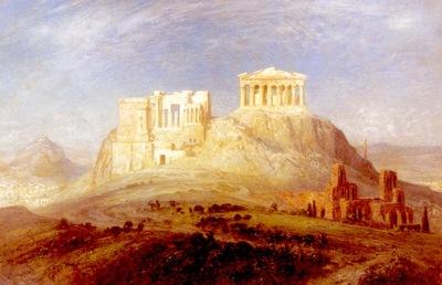 Koerner Ernst Carl Eugen The Acropolis Athens