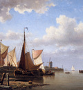 Koster Everhardus Ships at the quai of Overschie Sun