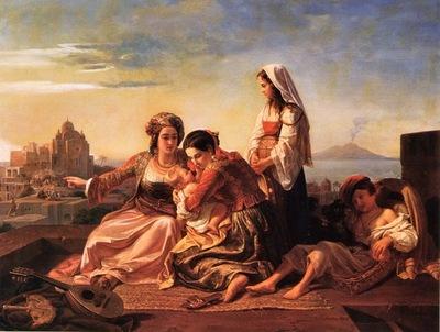 Kretzschmer, Johann Hermann Amusing the Baby end