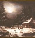 ds cornelius krieghoff 04 l white horse inn by moonlight
