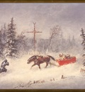 ds cornelius krieghoff 12 l the blizzard