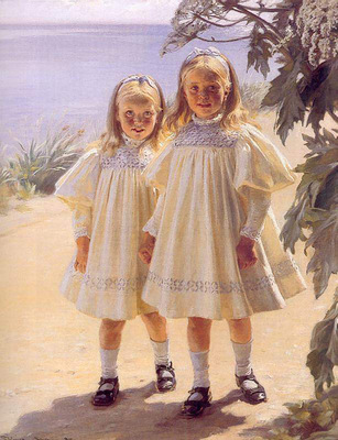 kroyer peder severin hermanas bentzon