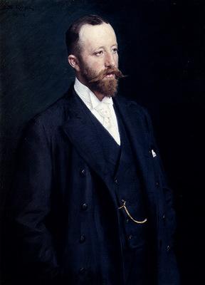 Kroyer Peder Severin Portrait Of A Gentleman