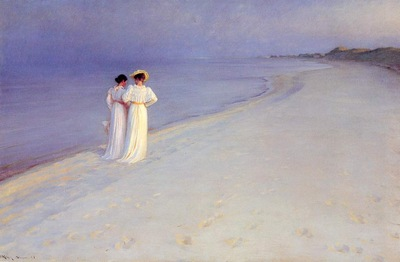 Kroyer Peder Severin Tarde de verano en la playa