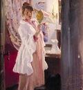 kroyer peder severin marie en el espejo