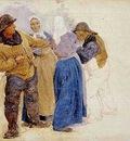 kroyer peder severin mujeres y pescadores de hornbaek