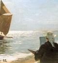 kroyer peder severin pintores en la playa