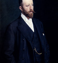 Kroyer Peder Severin Portrait Of A Gentleman