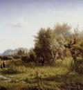 Kruseman van Elten Hendrik Summer landscape Sun