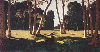 kuindzhi birch grove