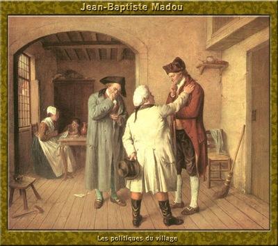 PO Vp S1 39 Jean Baptiste Madou Les politiques du village