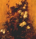 makart still life with roses 19th c