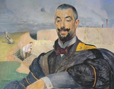 Portrait of Erazm Baracz