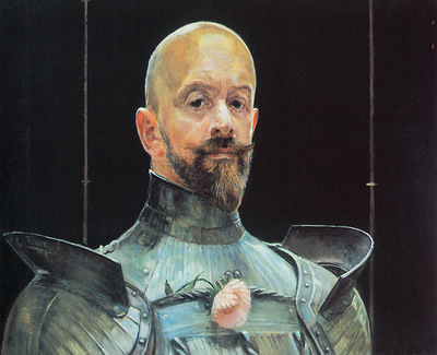 Selfportrait in Armour