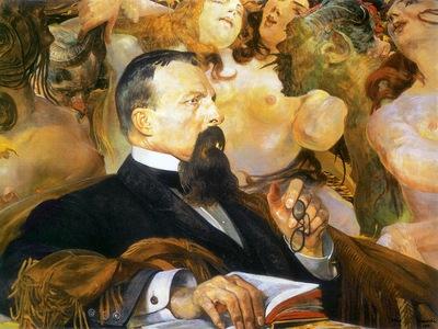 portrait of edward raczynski