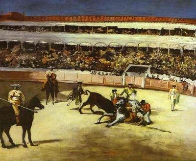 Edouard Manet Bull Fighting Scene