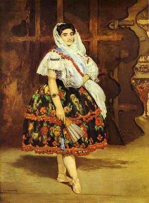 Edouard Manet Lola de Valence