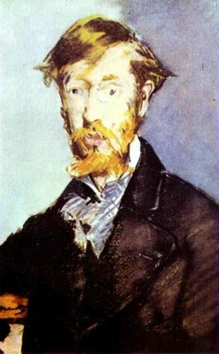 Edouard Manet Portrait of George Moore
