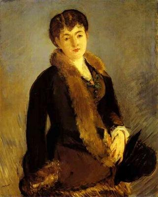 Edouard Manet Portrait of Mlle Isabelle Lemonnier