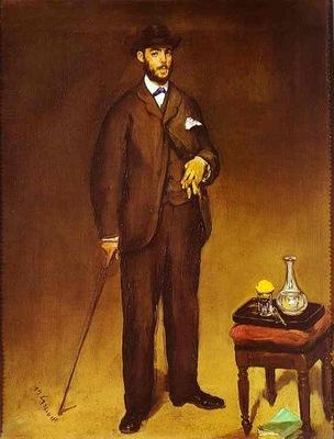Edouard Manet Portrait of Theodore Duret