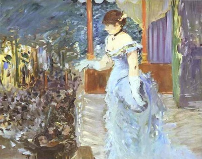 Edouard Manet Singer at a Cafe Concert