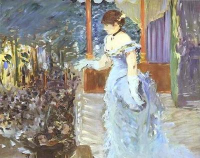 Edouard Manet Singer at a Cafe Concert