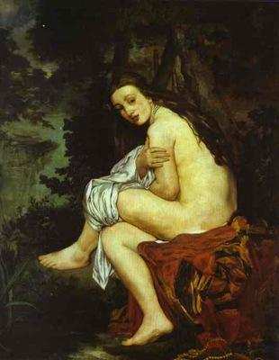 Edouard Manet Surprised Nymph  Nymphe surprise