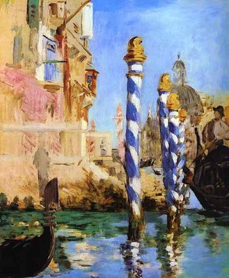 Edouard Manet The Grand Canal, Venice