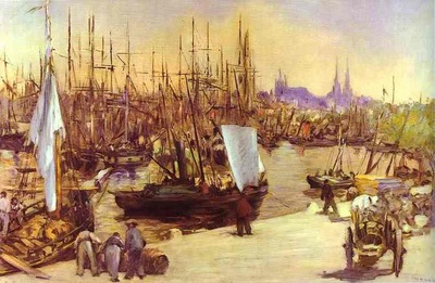 Edouard Manet The Harbour at Bordeaux