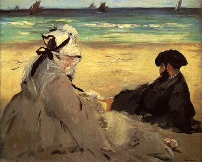 Manet Edouard On The Beach