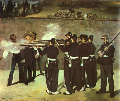 manet the execution of the emperor maximilian,