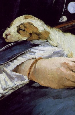 Manet The railway, 1872 73, 93 3x111 5 cm, Detalj 2 Nation