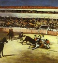 Edouard Manet Bull Fighting Scene