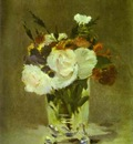 Edouard Manet Flowers in a Crystal Vase