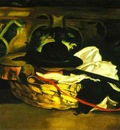 Edouard Manet Guitar and Hat