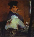 Edouard Manet In the Bar Le Bouchon