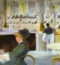 Edouard Manet Interior of a Cafe