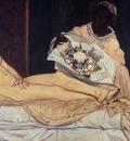 Edouard Manet Olympia detail , De