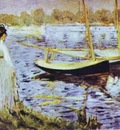 Edouard Manet The Banks of the Seine at Argenteuil
