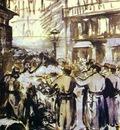 Edouard Manet The Barricade Civil War