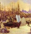 Edouard Manet The Harbour at Bordeaux