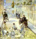 Edouard Manet The Road Menders, Rue de Berne