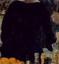 Manet A bar at Folies Bergeres, 1881 82, Detalj 2 96x130 c