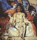 Manet Christ with Angels, 1864, watercolor, gouache and indi