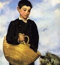 Manet Edouard Boy with Dog