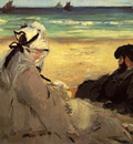 Manet Edouard On The Beach