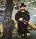 Manet Pertuiset, Lion Hunter, 1881, oil on canvas, Museum of